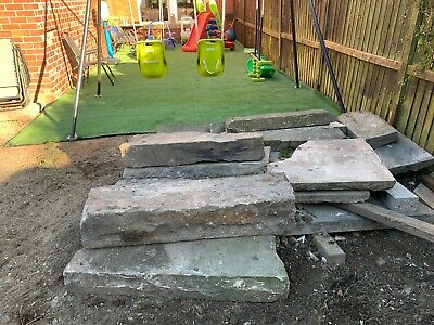 RECLAIMED YORK STONE FLAGS And Various Lintels/ Cills • 50£