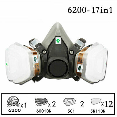$ CDN42.55 • Buy 17 In 1Filter Gas BoxCartridges Chemical Anti Organic NIOSH Approved Against