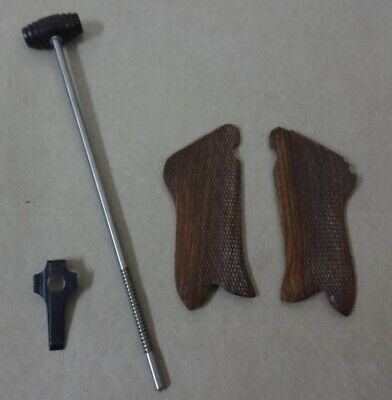 Cleaning Rod For German WWI Artillery Luger P08 W/Take Down Tool+Hand Grips F343 • 43.19£