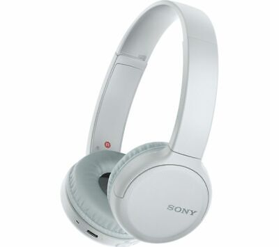 £34.99 • Buy SONY WH-CH510 Wireless Bluetooth Headphones - White - Currys