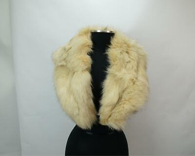 $49.99 • Buy Real Fur Stole White Neck Cover