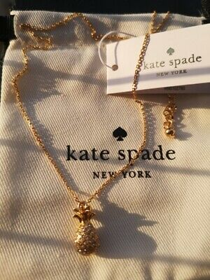 $ CDN33.51 • Buy Kate Spade New York By The Pool Pineapple Necklace