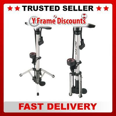 Beto Track Pump Tripod Legs With Gauge And Dual Head • 21.73£