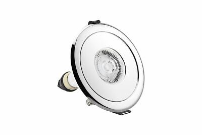 £7.88 • Buy Evofire Fire Rated Static Downlight Adapter Round Polished Chrome 70-100mm Kit