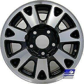 $143.40 • Buy 05064 Refinished Chevrolet S10 Truck 4x4 1998-1999 15in Wheel Machined W/Black