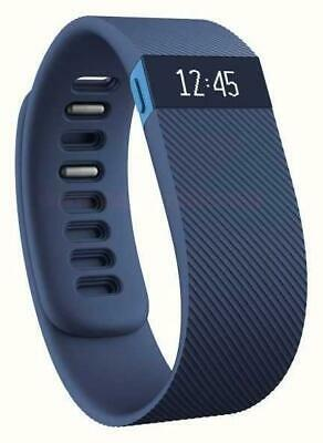 View Details Fitbit Charge Fitness Activity Tracker Wristwatch Pedometer - Blue - Small • 24.95£