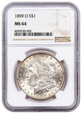 $89.95 • Buy 1899 O Morgan Silver Dollar $1 NGC MS64