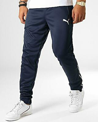 Puma Dry Cell Tracksuit Bottoms Slim Fit Pant Mens Navy Sports Gym Casual New • 22.99£