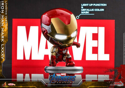 $ CDN232.86 • Buy Hot Toys Iron Man Mark 85 Cosbaby Marvel Mini Light Box Set COSB596