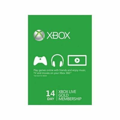 $4 • Buy Microsoft Xbox Live 14 Day Trial Code