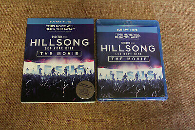 $7 • Buy Hillsong Let Hope Rise (NEW SEALED Blu-ray/DVD 2016 2-Disc Set) Australia Based