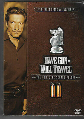 $8.99 • Buy Have Gun Will Travel - The Complete Second Season (DVD, 2005, 6-Disc Set) New