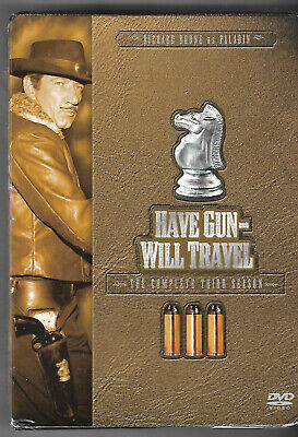 $10.84 • Buy Have Gun Will Travel - The Complete Third Season (DVD, 2006, 7-Disc Set) New