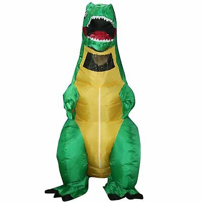 £26.99 • Buy Inflatable Adult Dinosaur T-Rex Halloween Party Fancy Dress Party Costume Outfit