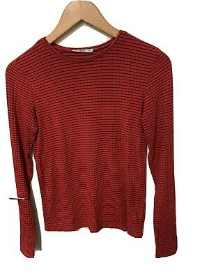 AU12 • Buy Zara Striped Red Black Jumper Top S 8