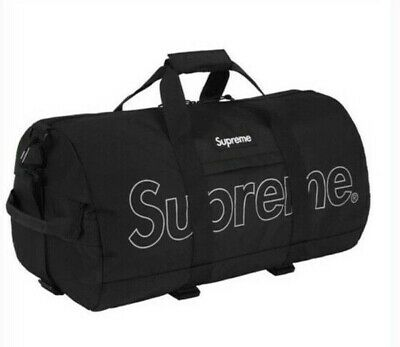 $ CDN344.17 • Buy Brand New With Tag Supreme FW18 Duffel Bag Black