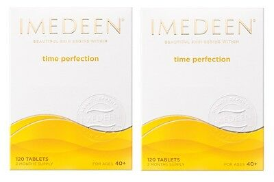 2 X Imedeen Time Perfection 120 Tablets - 2 Months Supply • 99.99£