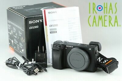 $ CDN817.20 • Buy Sony Alpha A6300 Digital Camera With Box *Japanese Language Only* #21935