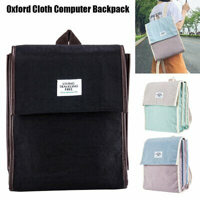 AU13.99 • Buy Women Oxford Cloth Backpack Anti-theft Casual Travel Outdoor Backpack Schoolbag