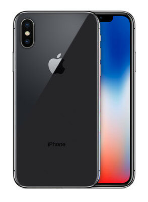 AU449 • Buy USED | Apple IPhone X | 64GB | Space Grey | Unlocked | No Face ID | Dead Pixels