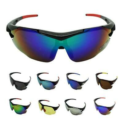 Men Cycling Biking Driving Running Golf Fishing Outdoor Sports Ladies Sunglasses • 8.99£