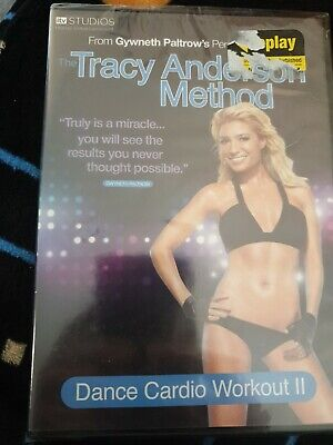 The Tracy Anderson Method - Dance Cardio Workout 2 DVD NEW SEALED FITNESS • 2.30£