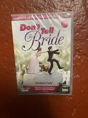 Dont Tell The Bride Series 1 Season One NEW SEALED DVD • 1.99£
