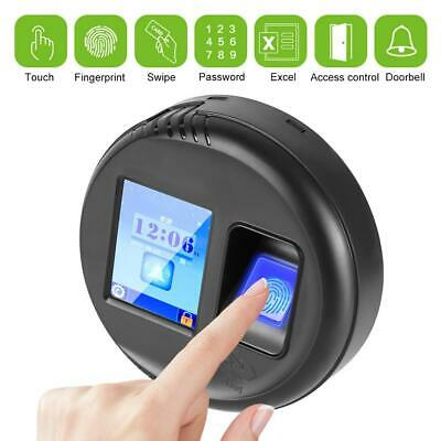 Biometric Fingerprint Time Clock Office Attendence Recorder Machine 125Khz Card • 41.30£