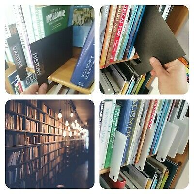 £11.99 • Buy Book Dividers -  Shelf Markers - Library Index Cards - Filotrax