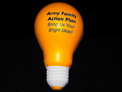 $8.50 • Buy Light Bulb Anti Stress Ball Relief Hand Exercise Squeeze Foam Sponge Toy