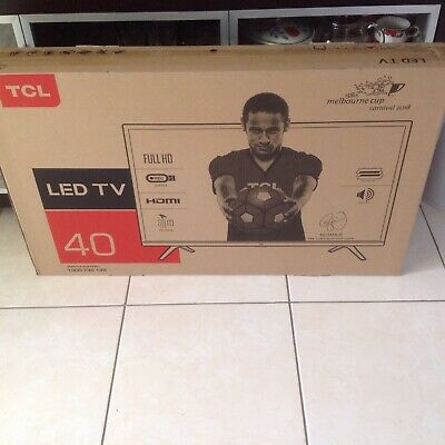 AU369 • Buy TCL LED TV 40 Inch Brand New With ***WARRANTY(MARCH 2022)******