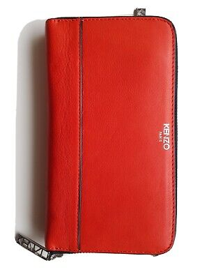 AU129.99 • Buy Kenzo Purse / Clutch Paris Red 100% Leather. Brand New With Tags, Never Used.