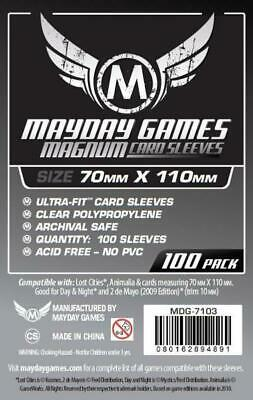 $3.09 • Buy Mayday Boardgame Sleeves Large Card Sleeve Size #2 (100) MINT