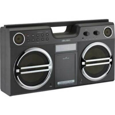 NEW Bush Stereo Boombox With FM Radio, Dock For IPod And IPhone • 49.99£