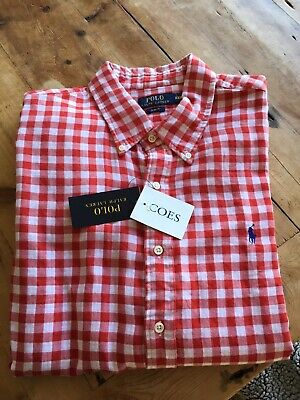Ralph Lauren Gingham Shirt XXL  • 65£