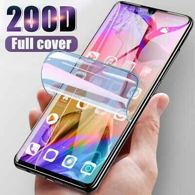 For SAMSUNG Galaxy S20 S10 8 9 Plus 5G NOTE TPU Hydrogel FILM Screen Protector • 1.89£
