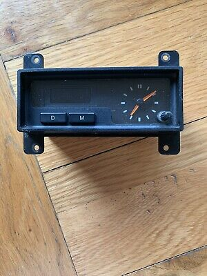 Ford Sierra Sapphire RS Cosworth 4x4 Interior Clock • 55£