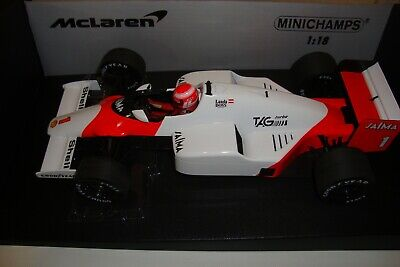 $225 • Buy 1:18 Minichamps Mclaren Tag  Mp4/2b Niki Lauda 1985 (tobacco Decals Included)
