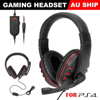 AU33.95 • Buy Durable Stereo Gaming Headset Headphone Wired With Mic For PC Xbox One PS4 AU