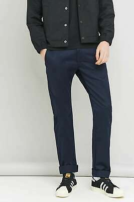 Edwin 55 Navy Compact Chinos Trouser W:33 L:33 - Brand New With Tags • 49.99£