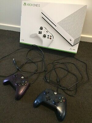 AU420 • Buy BRAND NEW Microsoft Xbox One S 1TB Three Controller(see Pics)Console + Games