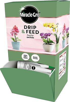 Miracle-Gro Drip & Feed Orchid 32ml Drip Feeder Pack Of 30 • 34.99£