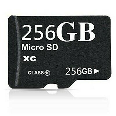 $19.99 • Buy 256GB Class 10 Micro SD XC Memory Card With Adapter