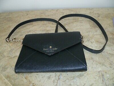 $ CDN50 • Buy Kate Spade NY Cedar Street Cami Black Mini Cross-body Handbag - Gently Used