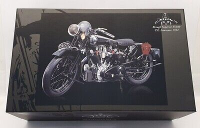 Minichamps 1/6 Scale Diecast 062 135500 TE Lawrence Brough Superior SS100 1932 • 599.99£