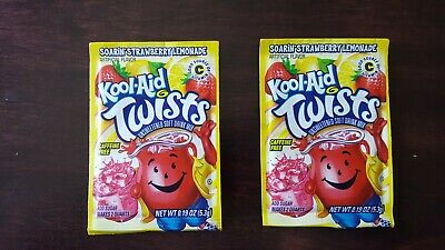 2 Kool-aid Drink Mix Soarin Strawberry Lemonade - Discontinued - Free Shipping • 10.73£