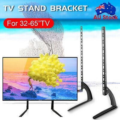 AU27.59 • Buy Table Top TV Stand Leg Mount LED LCD Flat TV Screen 14-70  For Sony LG Universal