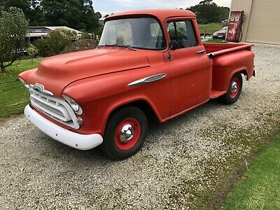 AU36500 • Buy 1957 Chevrolet Pickup Truck Not Ford F100 Chev