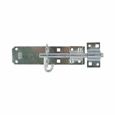 Zinc Gate Padbolt Brenton Pattern 8  / 200mm - Lock / Padlock / Latch • 3.95£