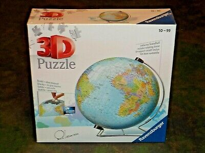 $59.97 • Buy The Earth - 3D 540 Piece Ravensburger Puzzle New! 12436 Globe
